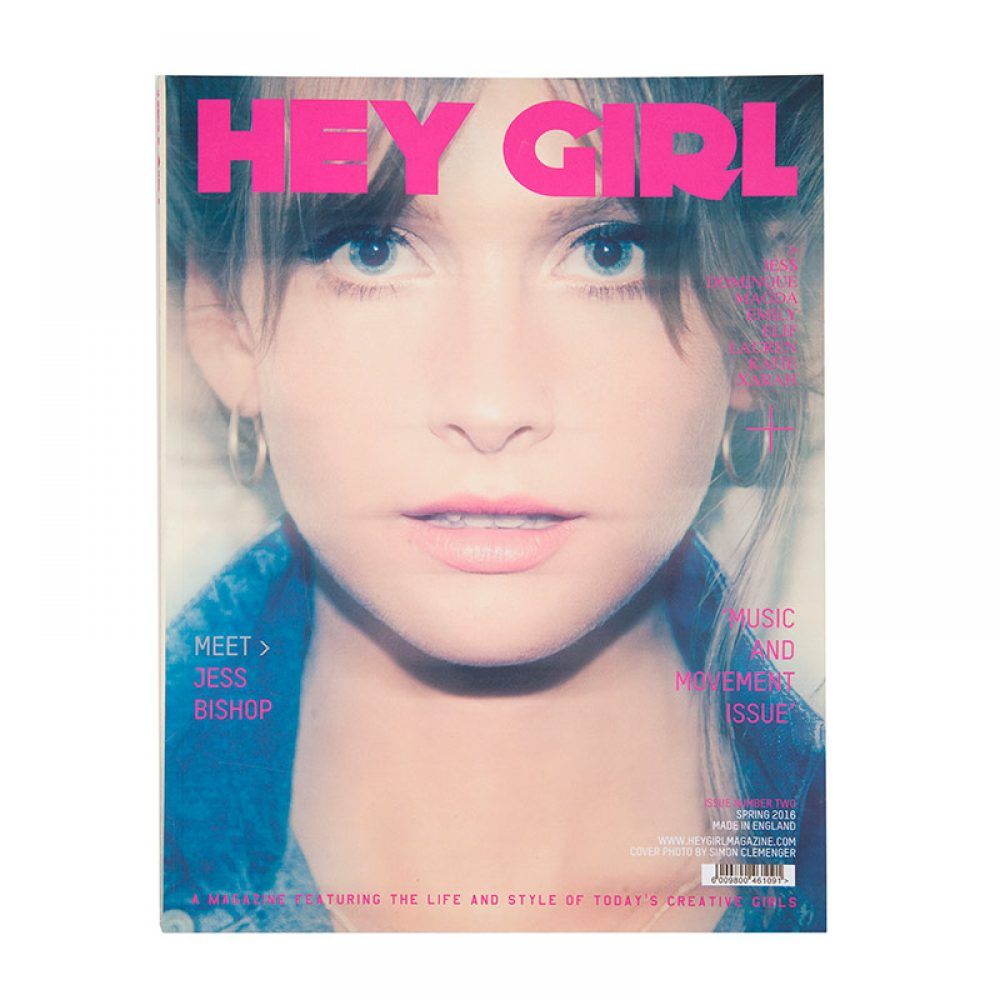 hey girl magazine cover issue 2