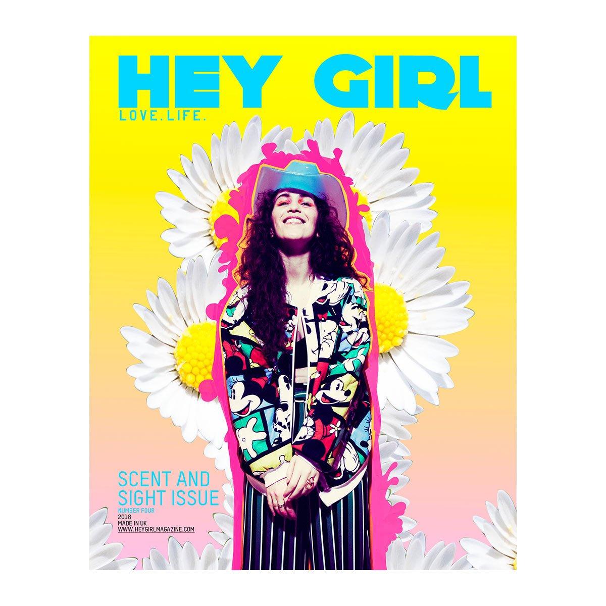 hey girl magazine cover